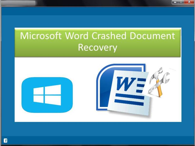 Microsoft Word Crashed Document Recovery 2.0.0.24